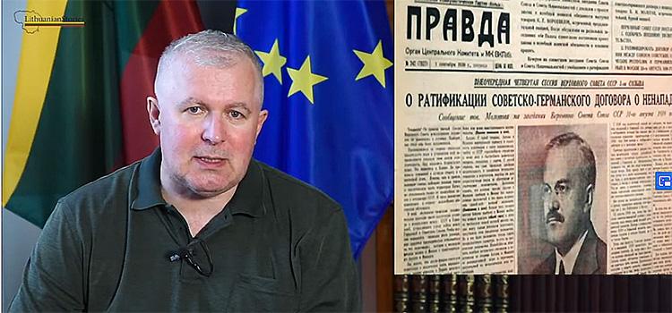 Interview to the historian Arvydas Anusauskas, Ministry of Defense