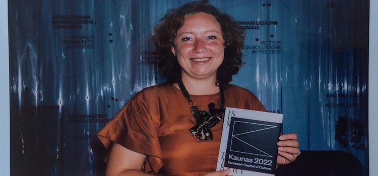 Kaunas2022, interview to the CEO, Virginija Vitkienė