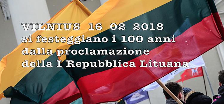 100 anni dalla Prima Repubblica Lituana