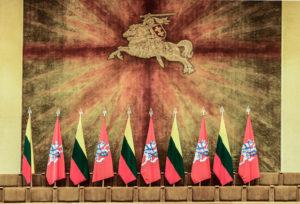 Bandiere e simbolo Stato Lituano