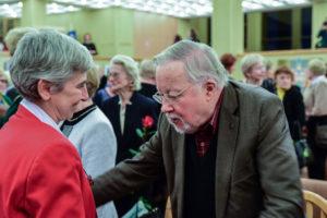 Marina e presidente Landsbergis