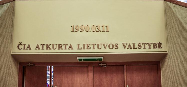 11 Marzo 1990, Lituania proclama la Repubblica indipendente