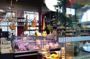 Mercato di Vilnius, angoli per degustazioni