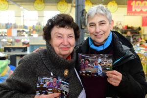 Mercato Vilnius-Signora Miele e Marina nel 2018