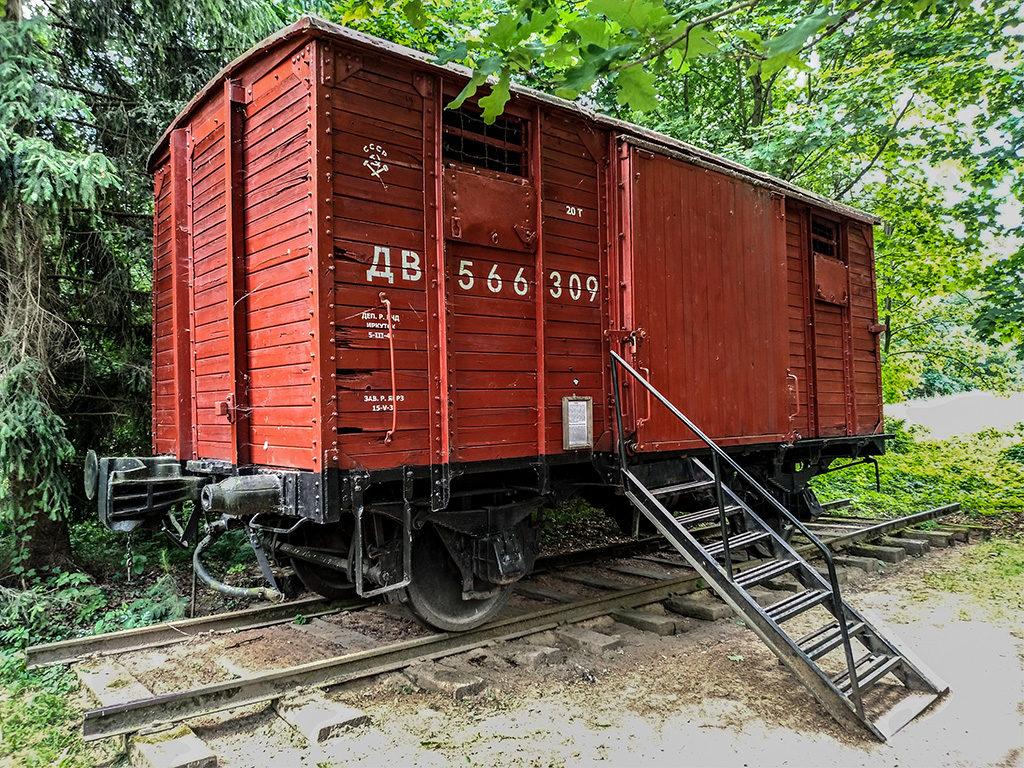 Vagone delle deportazioni-Rumšiškės