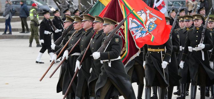 La rivolta anti Zarista del 1863, cerimonia a Vilnius