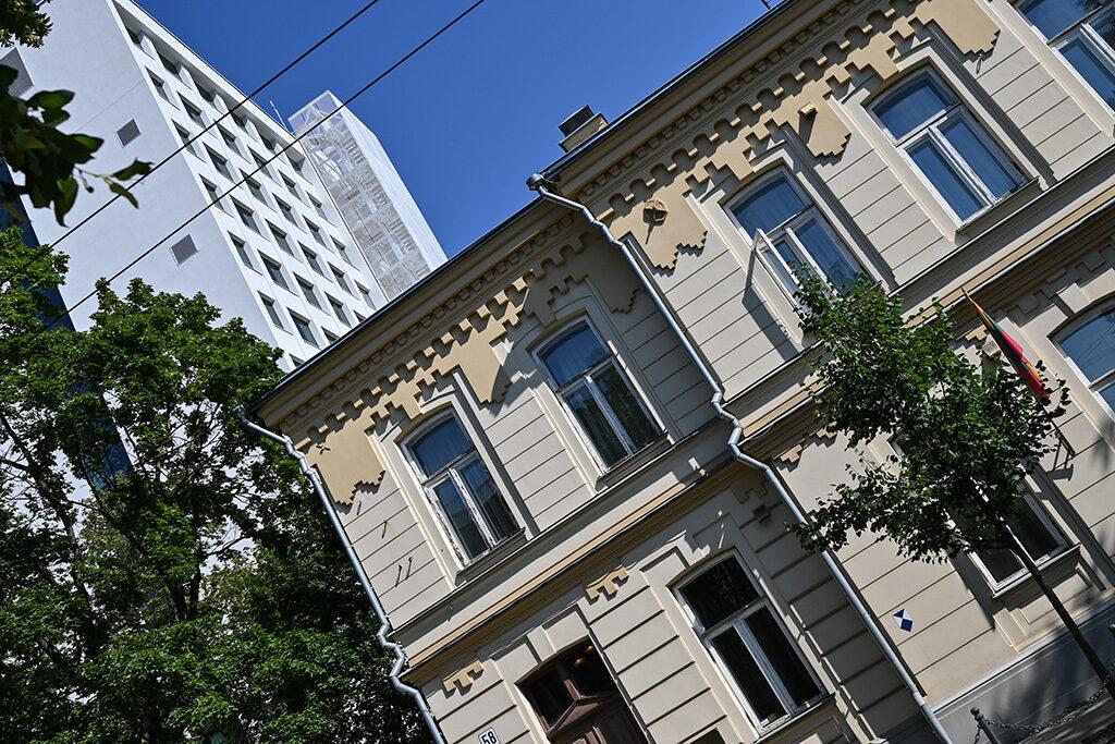 La sede del Rettorato dell'Università di Kaunas, Vytautas Magnus, ospita la mostra dedicata ai 100 anni di diplomazia della Lituania