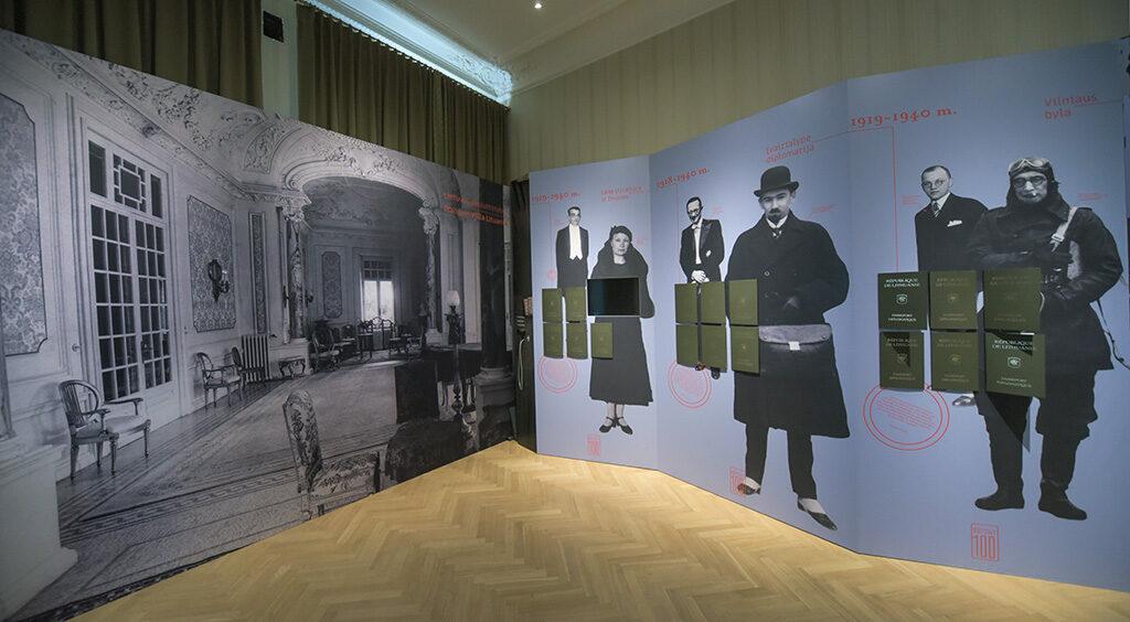Foto, documenti storici, materiale politico e supporti audiovisivi raccontamo la storia della Diplomazia Lituana dalla Prima Guerra Mondiale ad oggi